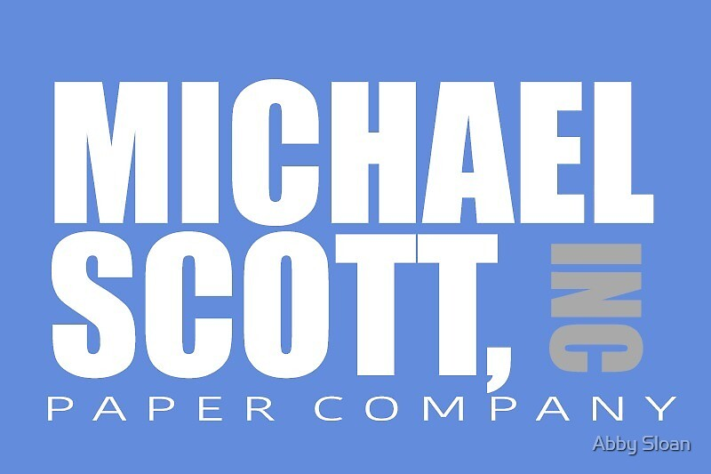 Michael Scott Paper Company by Abby Sloan