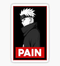 Pain logo Sticker