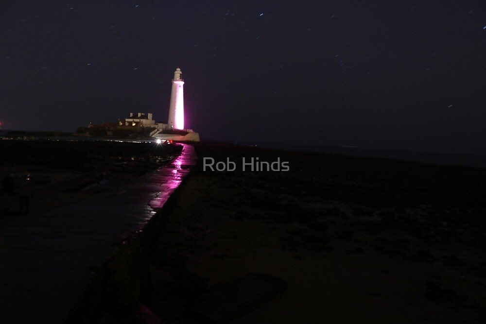 St Mary's Lighthouse 29 Dec by Rob Hinds