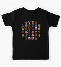 NEW - FNAF Multiple Animatronics - (Dec 2016) - Pixel art Kids Tee