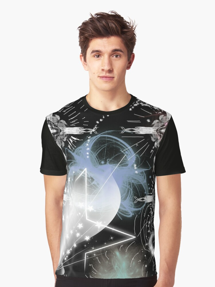 shooting star Graphic T-Shirt Front