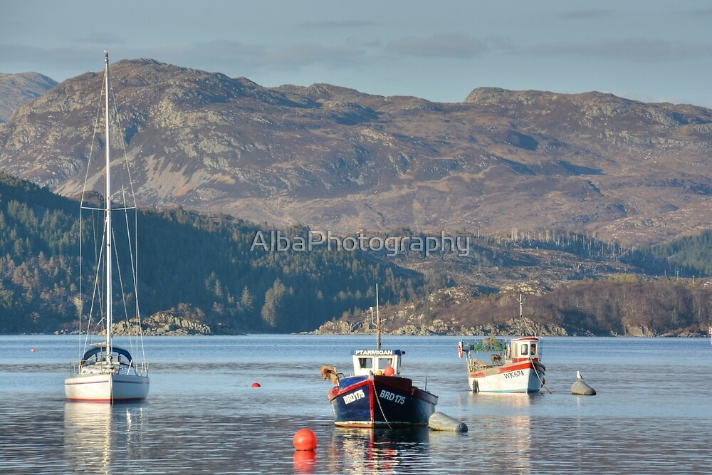 Plockton Bay, Highlands, Scotland by AlbaPhotography