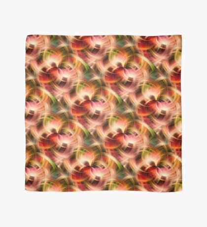 Swirling Red Pink Green And Yellow Colors Scarf