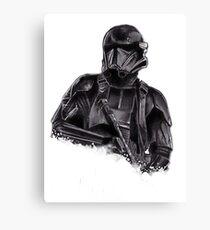 Death trooper Canvas Print