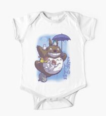 Totoro in Flight Kids Clothes