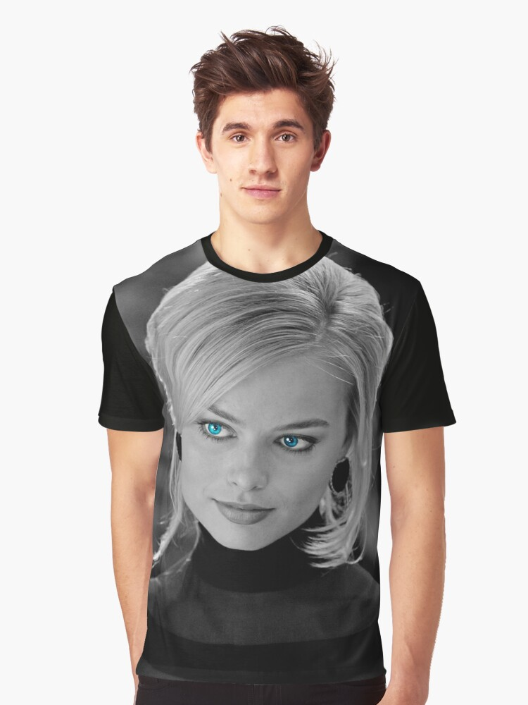 Mrs. Robbie 3 Graphic T-Shirt Front