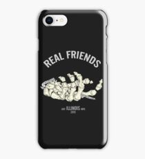 real friends illustration iPhone Case/Skin