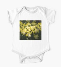 Sunny Daffodil Garden - Enjoying the Beauty of Spring Kids Clothes