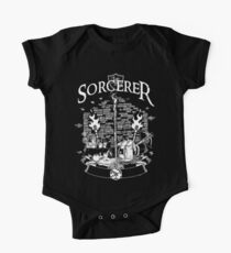 RPG Class Series: Sorcerer - White Version Kids Clothes