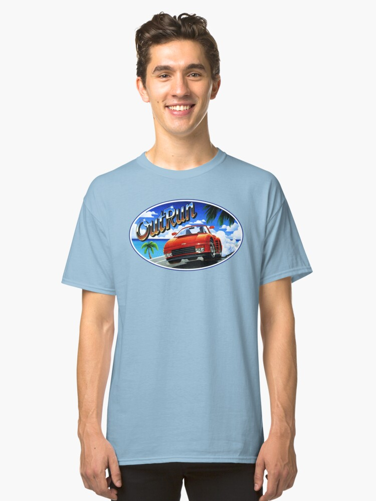 OutRun Classic T-Shirt Front