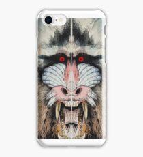 BEAST#1 Mandrill iPhone Case/Skin