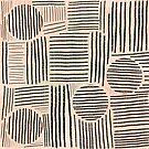 Modern Pencil Scratch Pattern by lollylocket