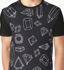 doodle crystals Graphic T-Shirt