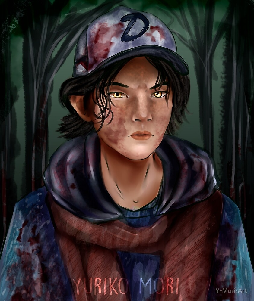 Clementine by Y-Mori-Art