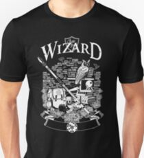 RPG Class Series: Wizard - White Version Unisex T-Shirt