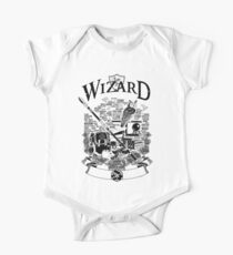 RPG Class Series: Wizard - Black Version Kids Clothes