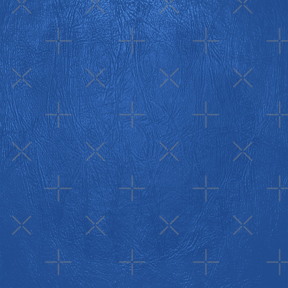 Blue Leather Texture by artonwear