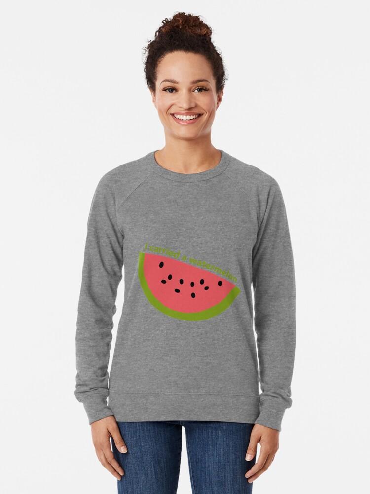 Alternate view of I carried a watermelon - dirty dancing Lightweight Sweatshirt