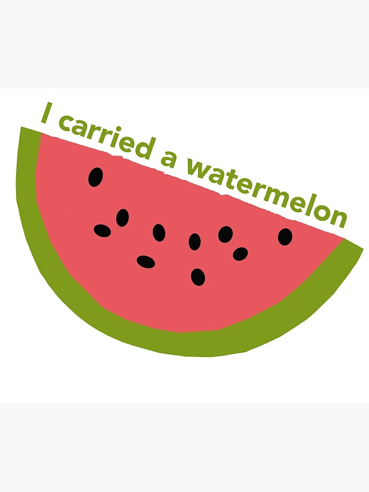 I carried a watermelon - dirty dancing by -gallifreya-