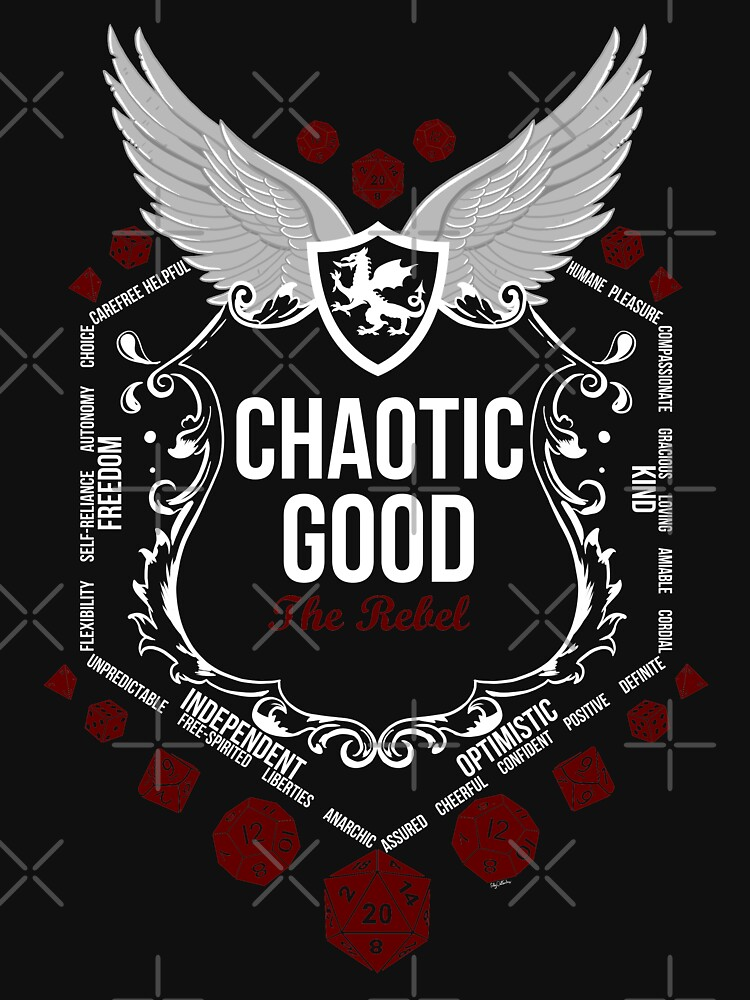 Chaotic Good - Black: Alignment Series de Milmino