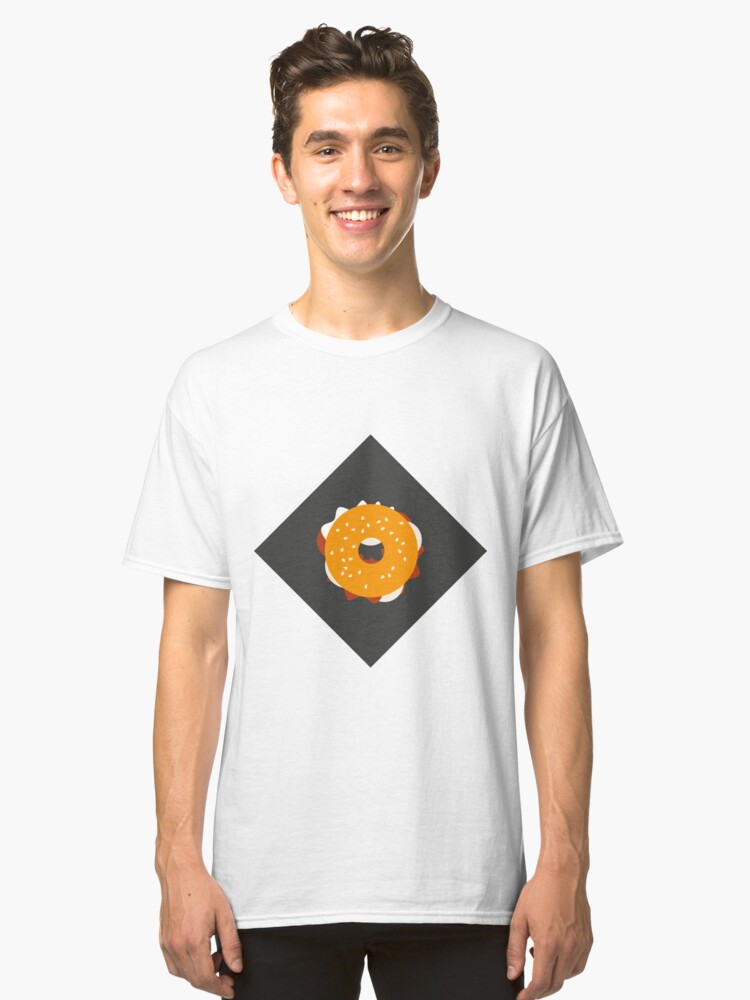 Food Model Classic T-Shirt Front