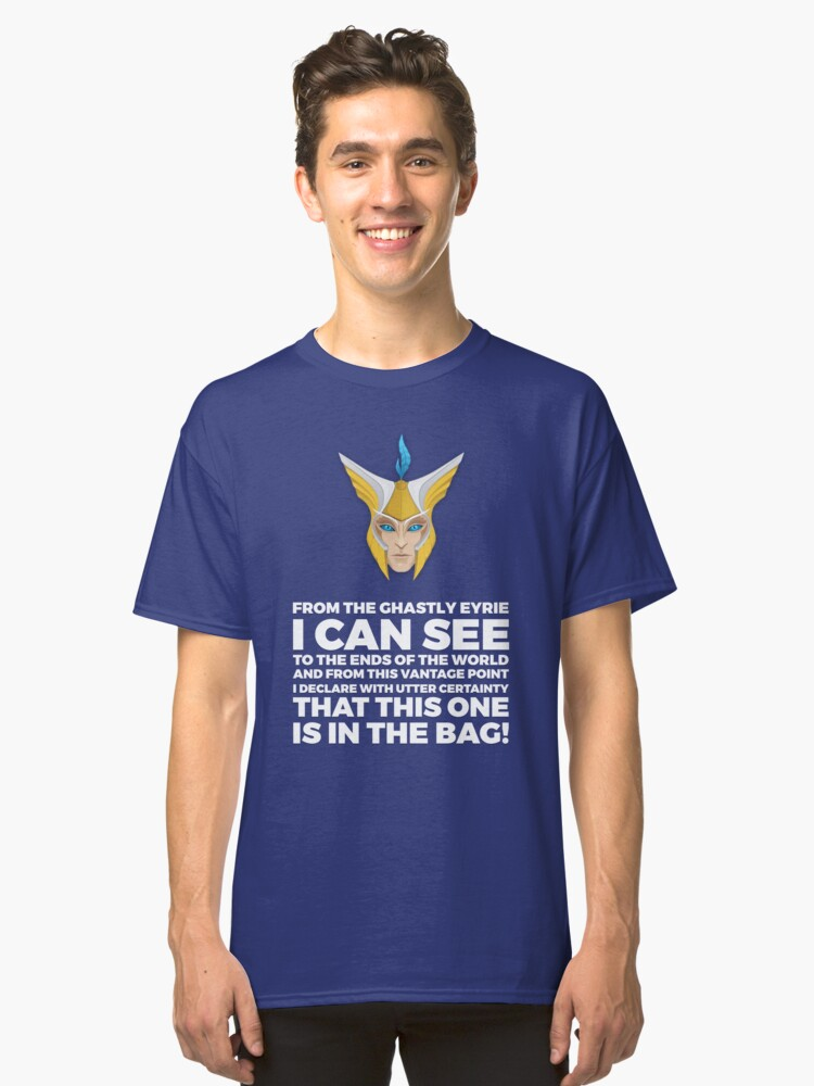 Skywrath Baggage  Classic T-Shirt Front