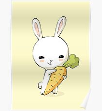 Bunny Carrot 2 Poster