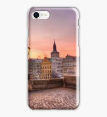 Sunrise @ Charles Bridge `Prague iPhone Case/Skin
