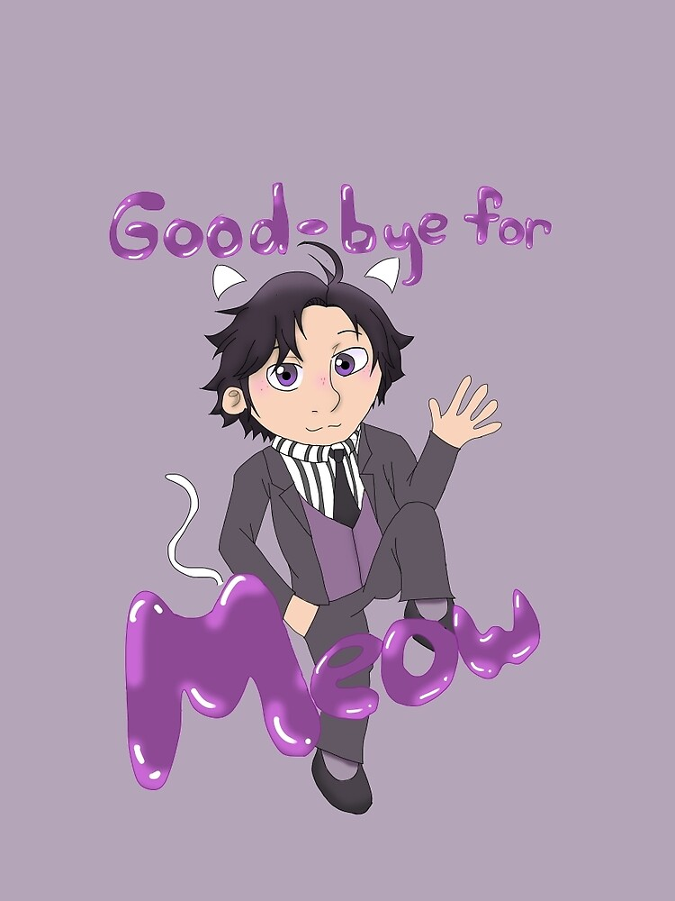 "Jumin Han - ""Good bye for meow!"" by randomfandom22"