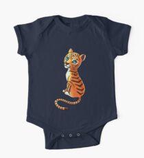 Tiger Cub One Piece - Short Sleeve
