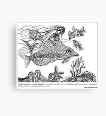 #Mermaid of Zennor – Cornwall, England Canvas Print