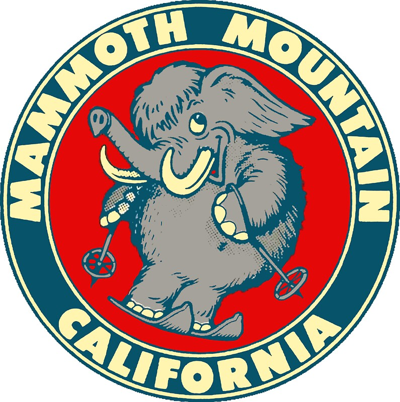 Quot Mammoth Mountain California Skiing Vintage Travel Decal