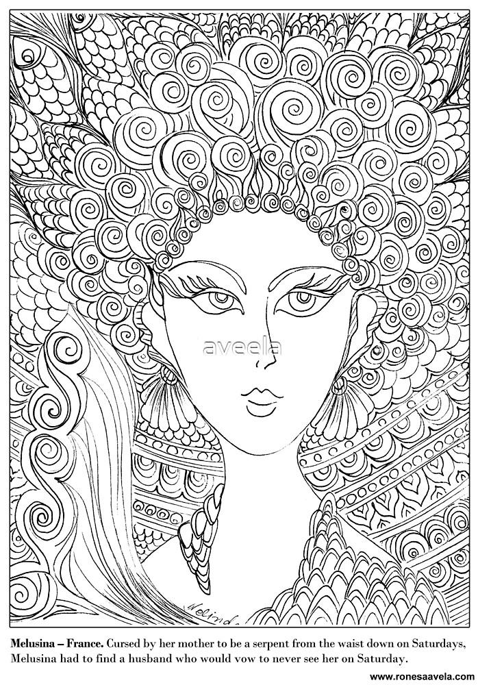 Melusina – French #Mermaid by aveela