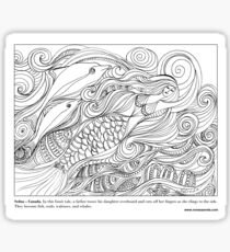 Sedna - Canadian #Mermaid Sticker