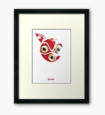 Princess Mononoke: San's Mask Framed Print