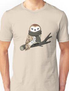 Winter Owl Unisex T-Shirt
