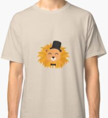 Lion head with cylinder Classic T-Shirt