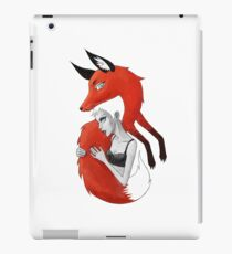 Girl and a Fox iPad Case/Skin