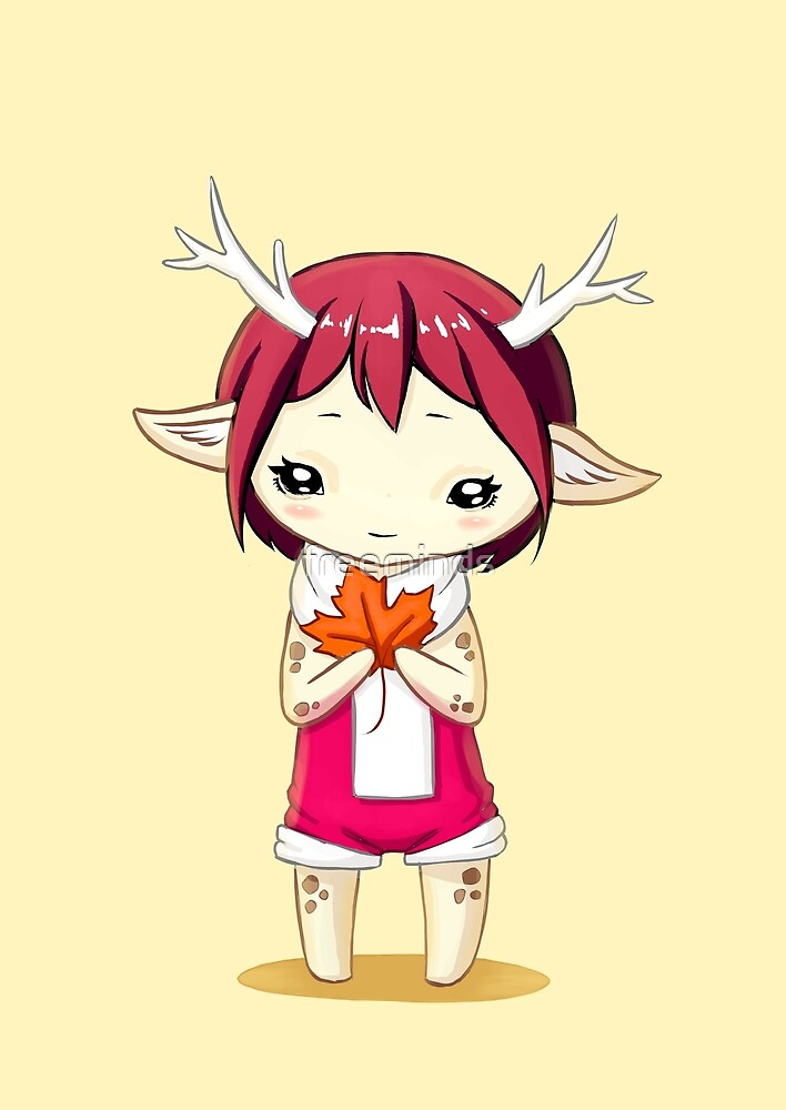 Deer Girl by freeminds