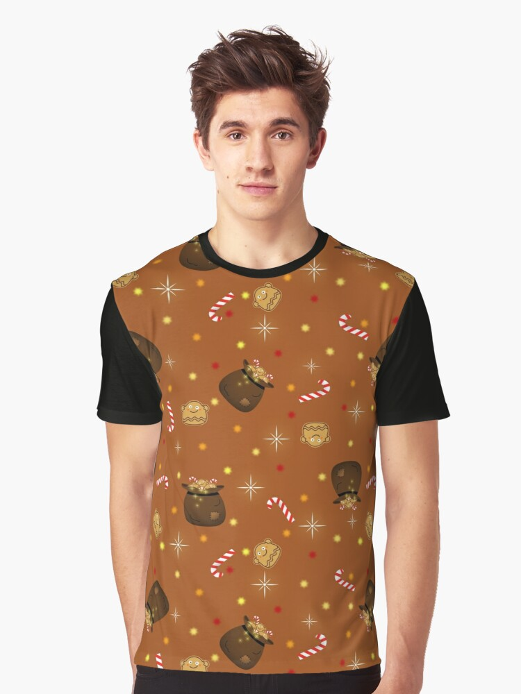 Christmas Goodies  Graphic T-Shirt Front
