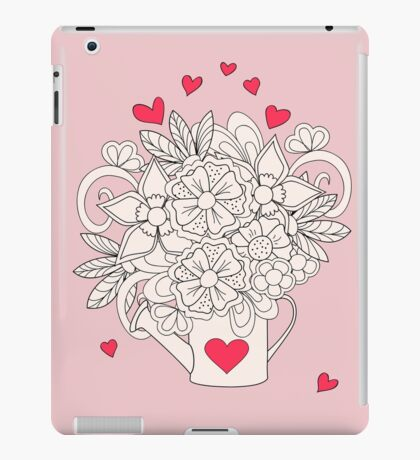 bouquet with love iPad Case/Skin