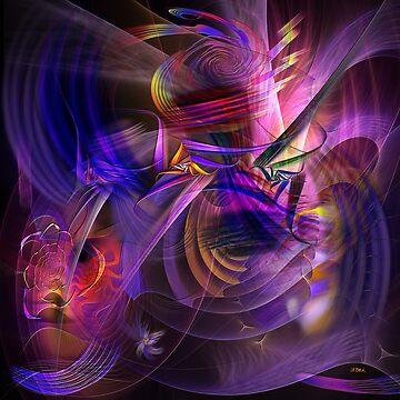 All That Jazz (Square Version) - By John Robert Beck by studiobprints