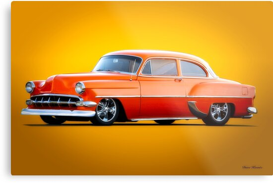 1954 Chevrolet Custom Bel Air Coupe by DaveKoontz