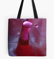 Water Drop Art - Wassertropfen Fotografie Splash - einzigartigen Druck Tote Bag