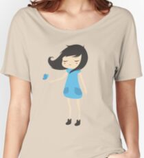 Girl and a Butterfly 2 Women's Relaxed Fit T-Shirt