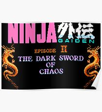 Ninja Gaiden 2 (NES) Poster