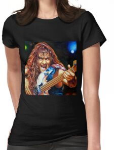 Harris Maiden painting portrait Womens Fitted T-Shirt