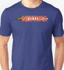 Neutopia (TurboGrafx-16 Title Screen) T-Shirt