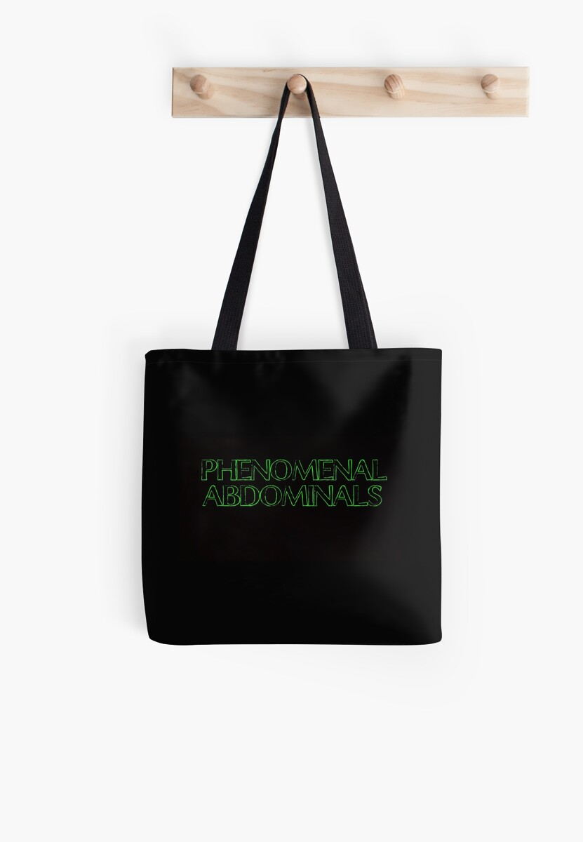 Phenomenal Abdominals (Green On Black/Chalk Font) by xkid-official