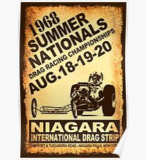 Niagara Summer Nationals Poster